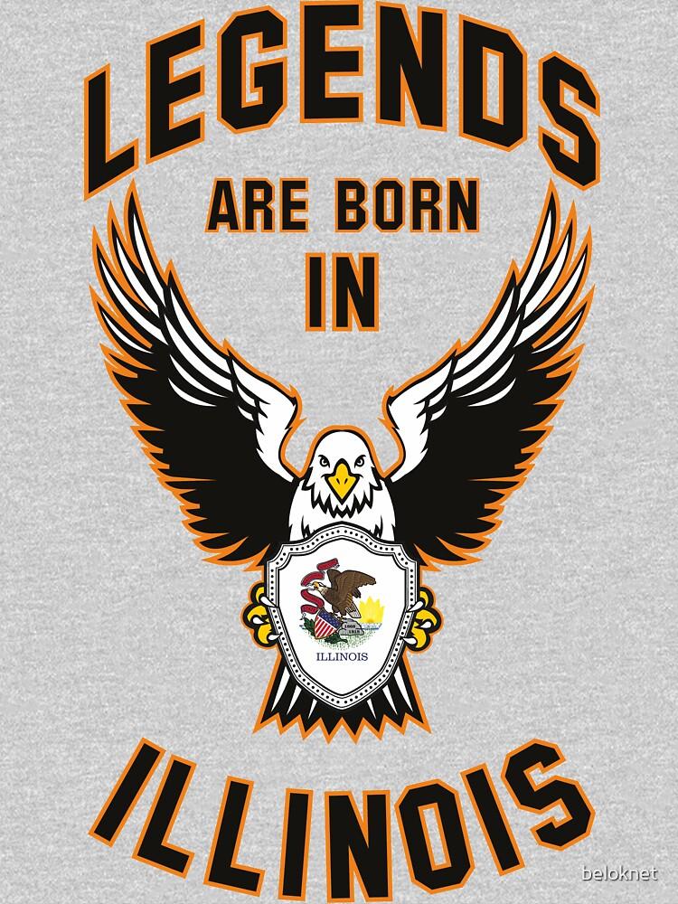 Legends are born in Illinois by beloknet