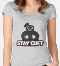 Stay Cuft Women's Fitted Scoop T-Shirt