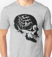 Rubik's skull  Unisex T-Shirt