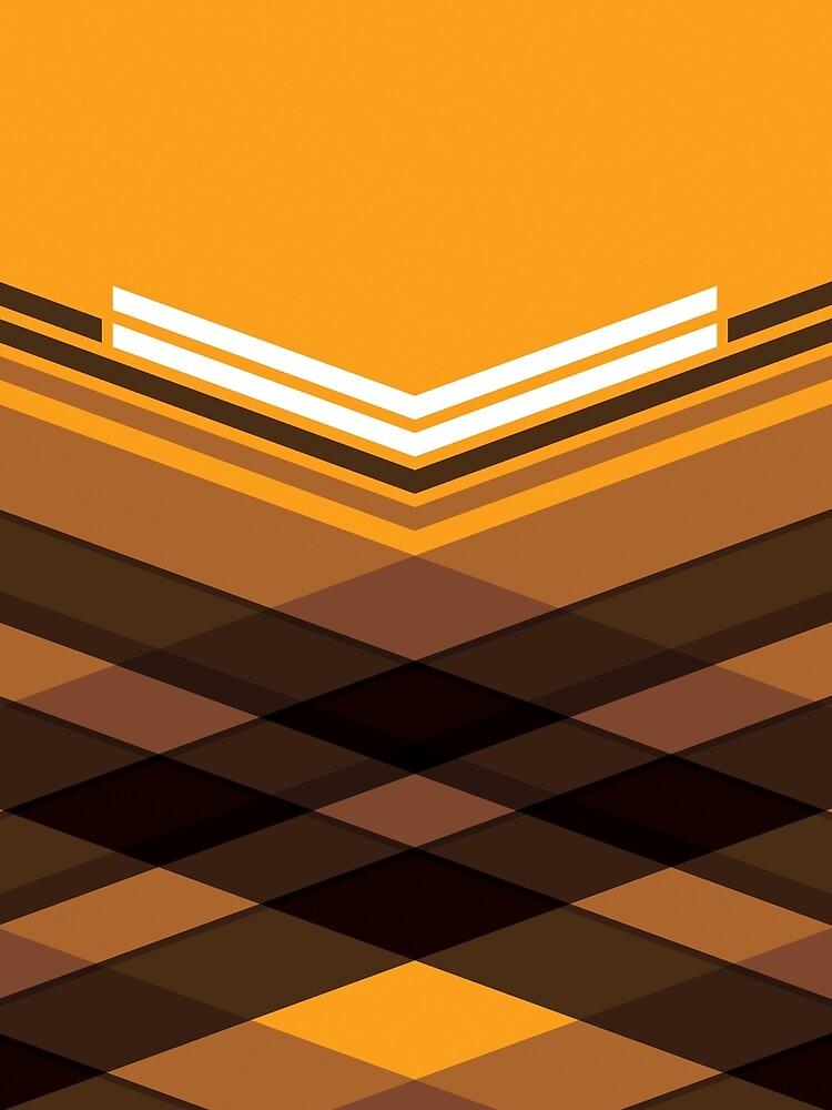 Brown Stripes by the99thstudio