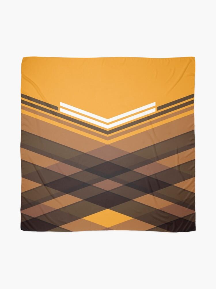 Alternate view of Brown Stripes Scarf