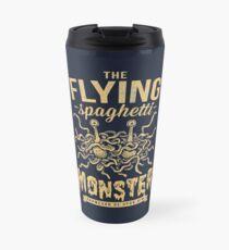 The Flying Spaghetti Monster (dark) Travel Mug