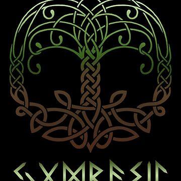 Yggdrasil Knotwork by Sarinilli