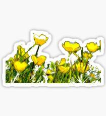 Buttercups  Sticker