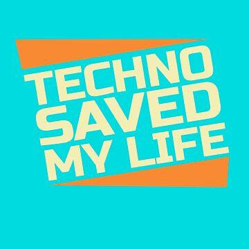 Funny Techno Trap Music EDM Raver by rainydaysstudio