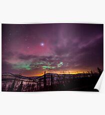 Alaska Sky Poster
