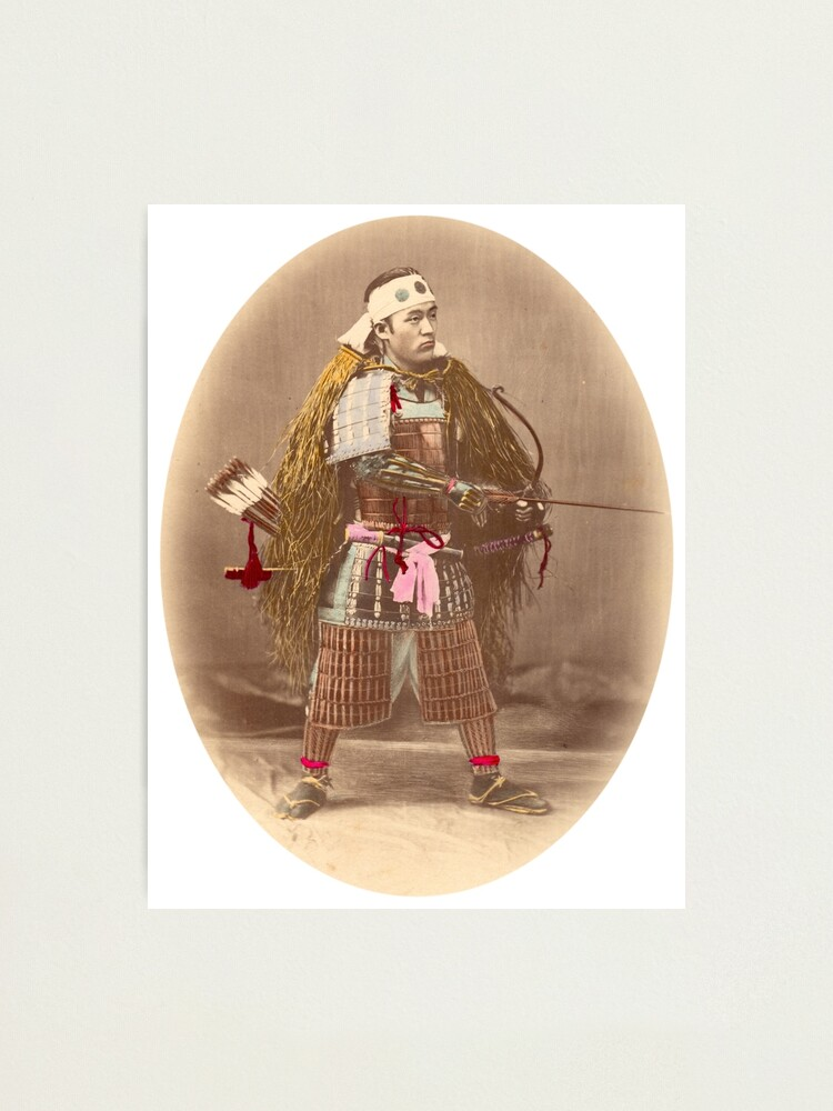 Alternate view of Samurai Archer Photographic Print