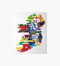 Irish county flags Art Board Print