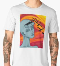 """""""Clutter"""" Surreal Painting Men's Premium T-Shirt"""