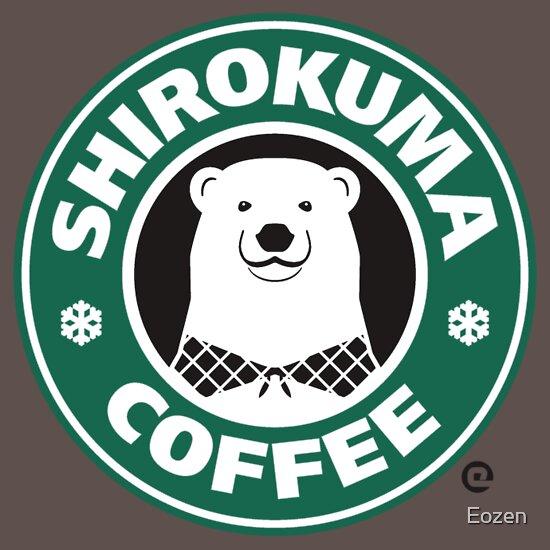 TShirtGifter presents: Shirokuma Coffee | Unisex T-Shirt