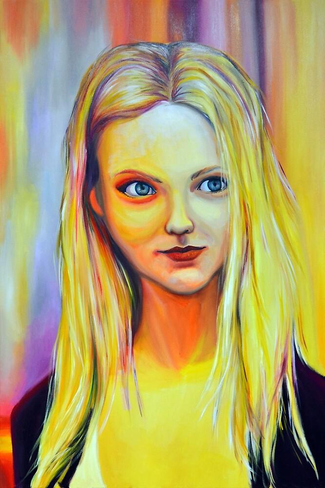 Be where I can hear you, 120-80cm, 2018, oil on canvas by oanaunciuleanu