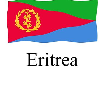 Eritrea flag by stuwdamdorp