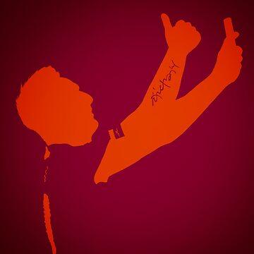 Francesco Totti Selfie - AS Roma by barrymasterson