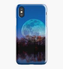 Luna arborum a tergo iPhone Case/Skin