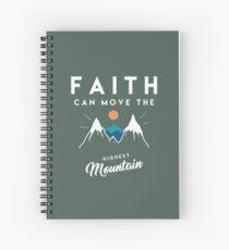 Cuaderno de espiral Cita de fe