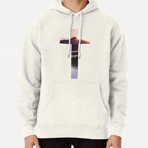 Christian Cross Pullover Hoodie