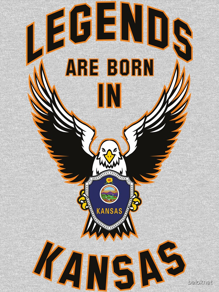 Legends are born in Kansas by beloknet