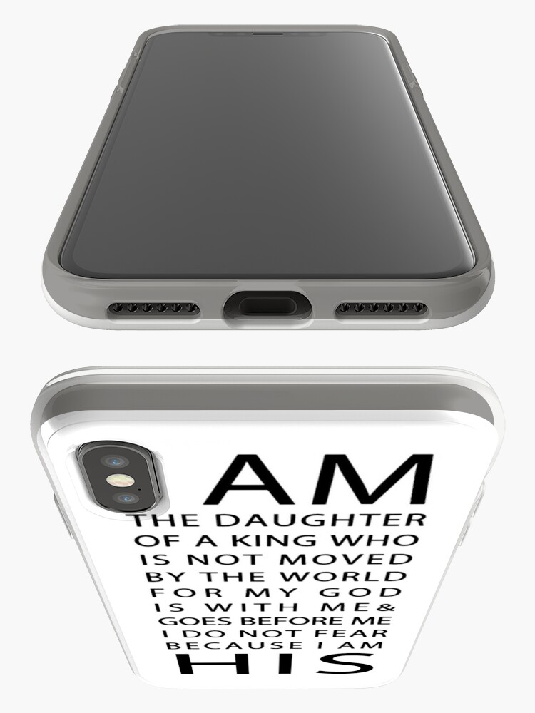 Alternate view of Christian Quote iPhone Case & Cover