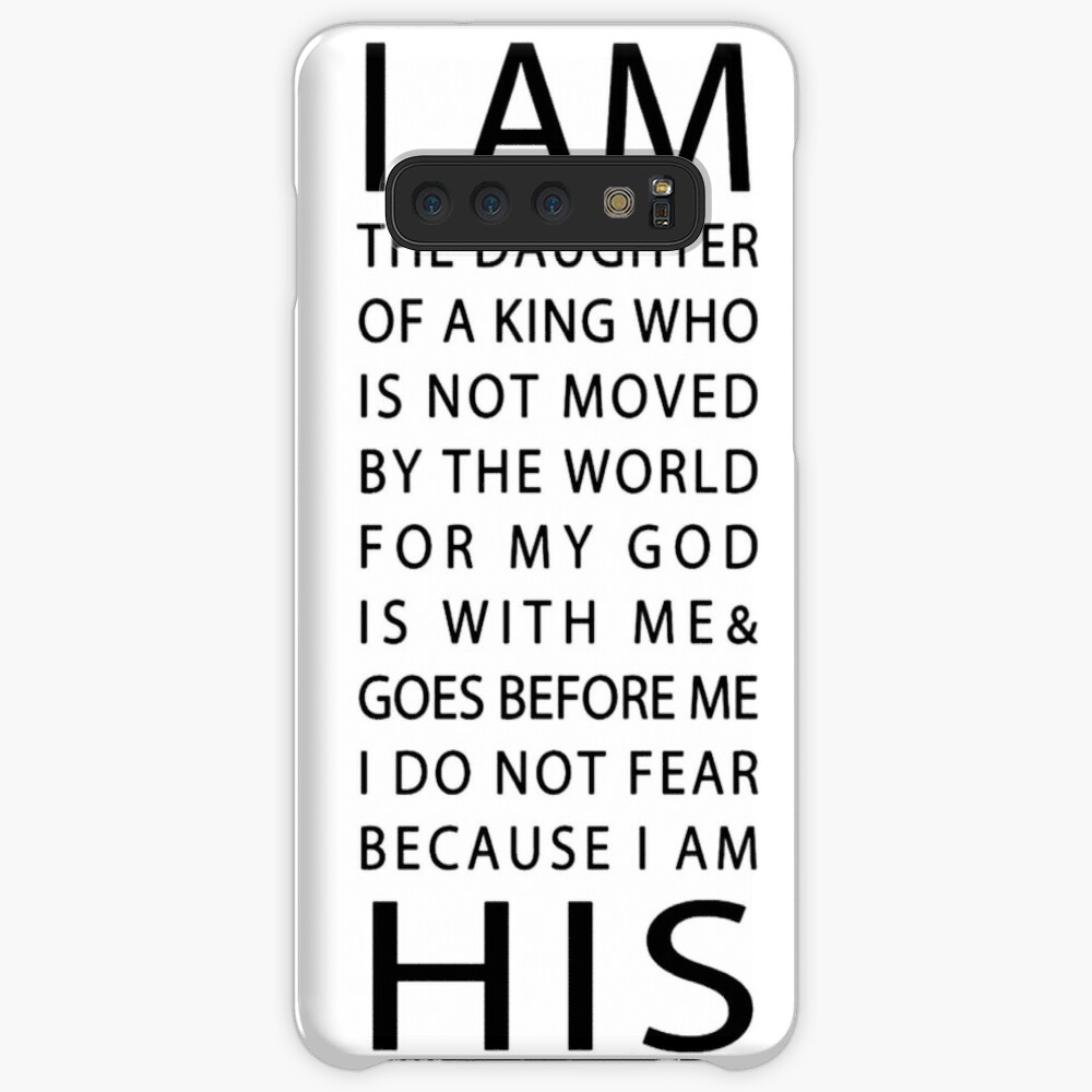 Christian Quote Case & Skin for Samsung Galaxy