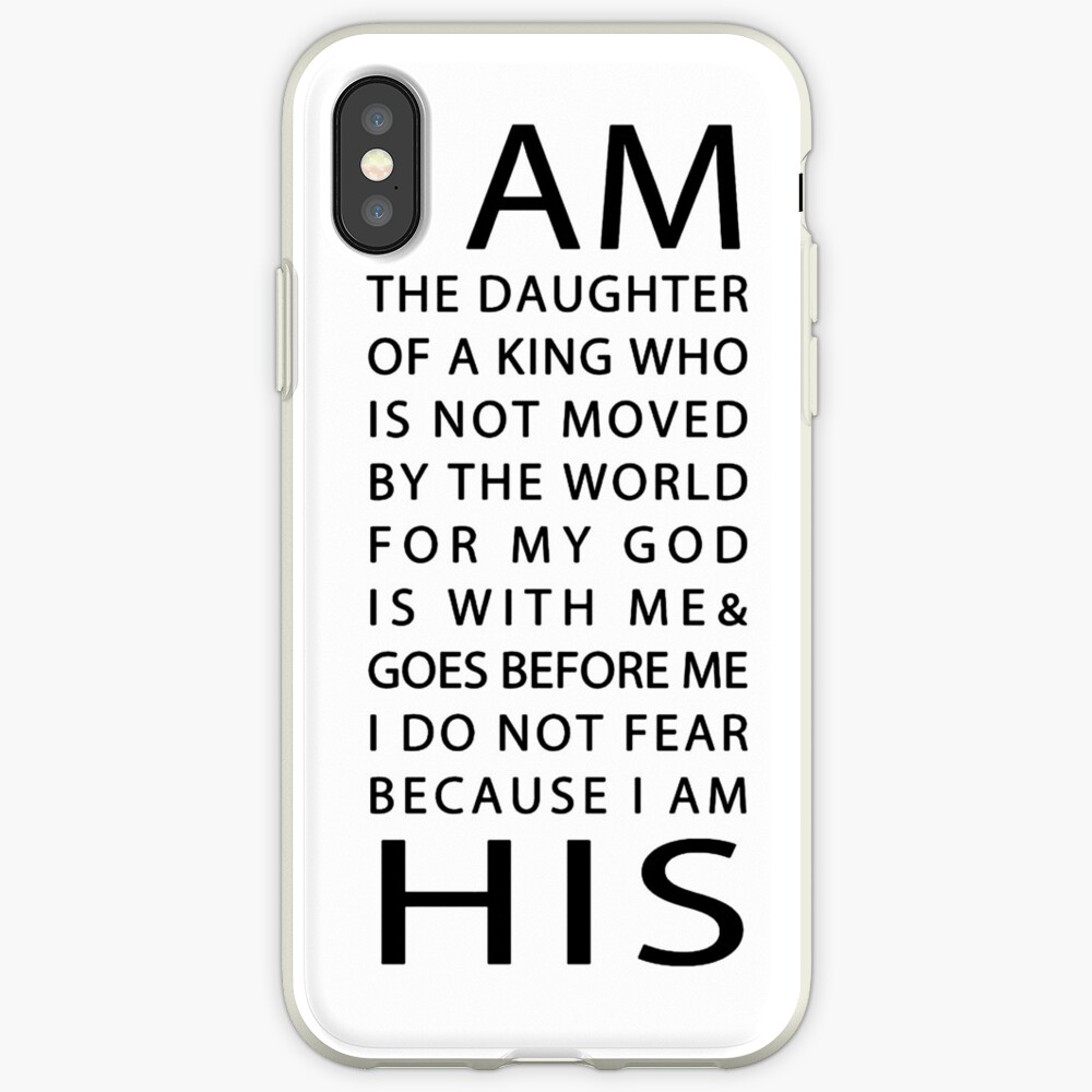 Christian Quote iPhone Case & Cover