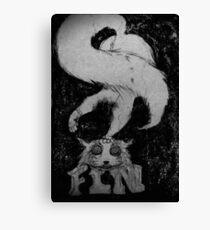 Cheshire cat Canvas Print