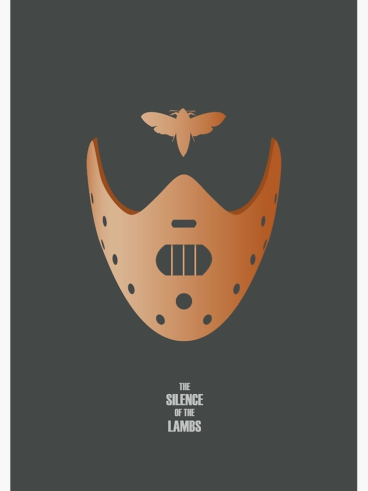 The Silence of the Lambs - Alternative Movie Poster by MoviePosterBoy