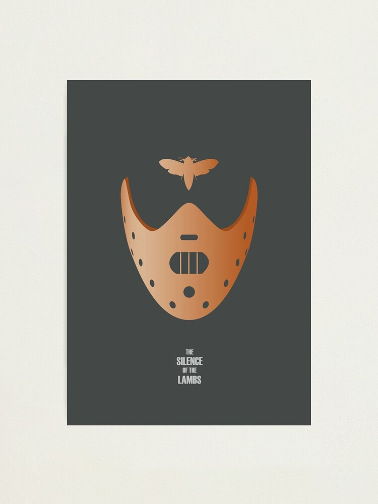 Alternate view of The Silence of the Lambs - Alternative Movie Poster Photographic Print