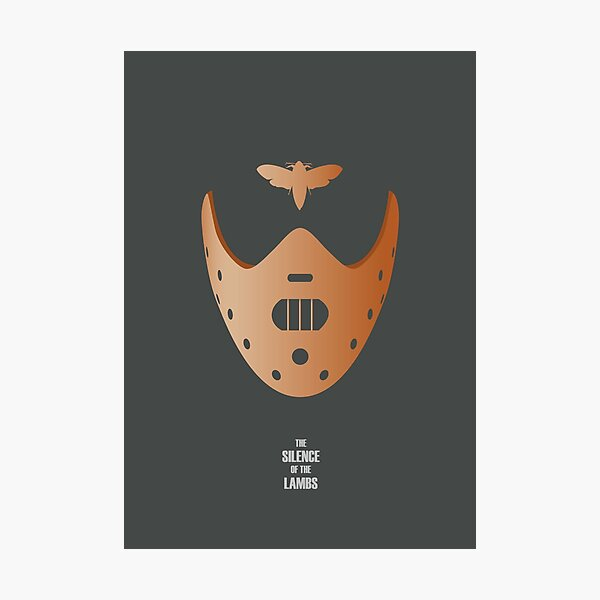 The Silence of the Lambs - Alternative Movie Poster Photographic Print