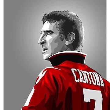 Erik Cantona - MUFC by barrymasterson
