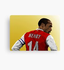 Thierry Henry - Arsenal Canvas Print