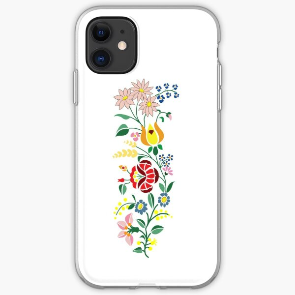 Hungarian embrodery design iPhone Soft Case