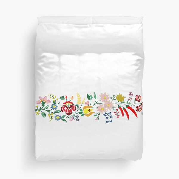 Hungarian embrodery design Duvet Cover