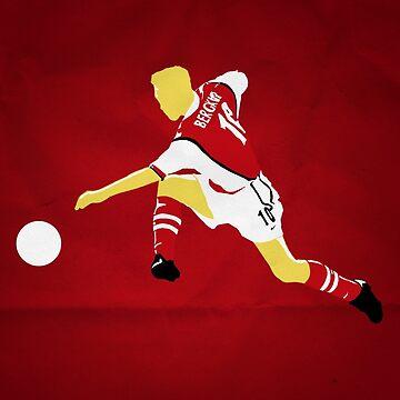 Dennis Bergkamp - Arsenal by barrymasterson