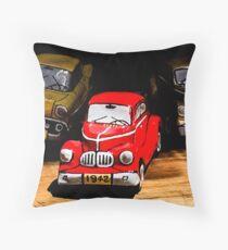 Cuba American Tin cars Throw Pillow