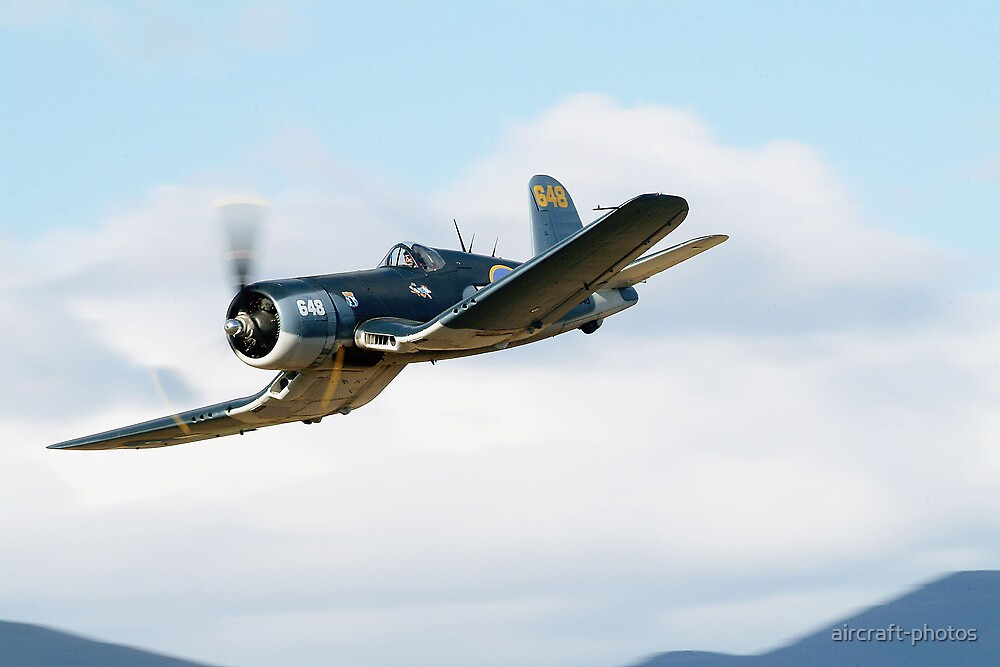 Quot Chance Vought F4u Corsair Quot By Aircraft Photos Redbubble