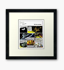 Calvin - The Creator Framed Print