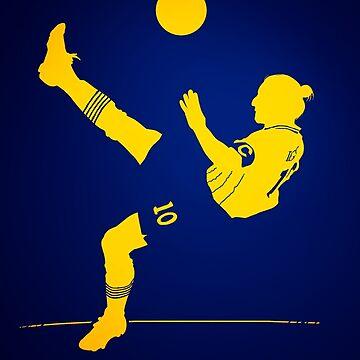 Zlatan Ibrahimovic by barrymasterson