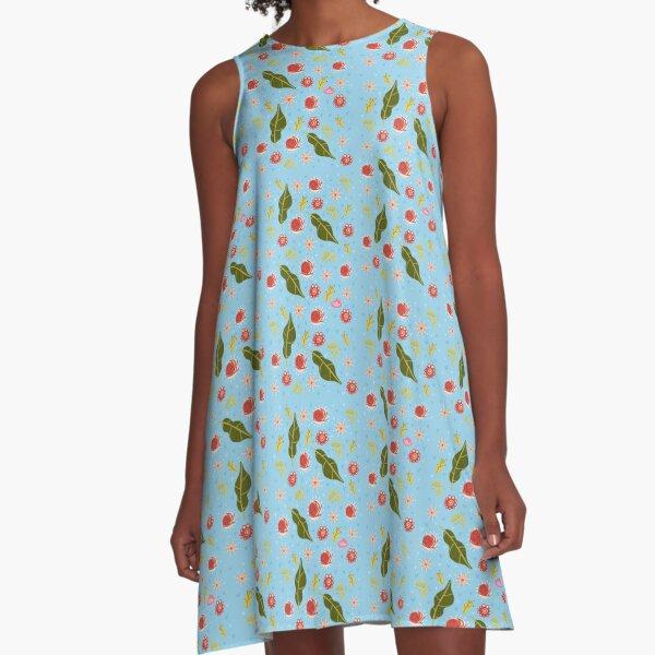 Lau ilusta - Primavera A-Line Dress