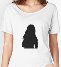 Camila cabello silhouette Women's Relaxed Fit T-Shirt