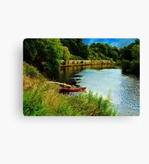 The River Wye Canvas Print