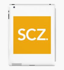 SCZ. Official Logo  iPad Case/Skin