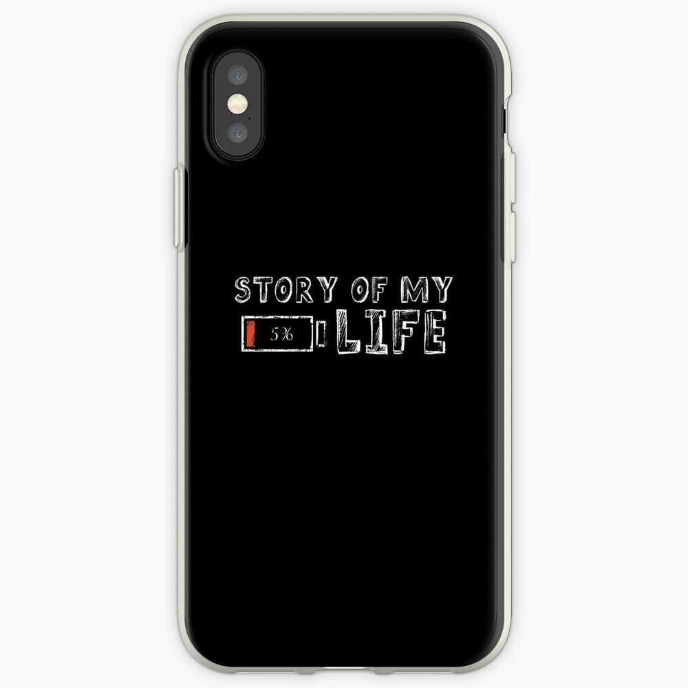 Die Geschichte meines Lebens iPhone-Hülle & Cover