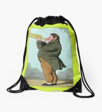 The Paradoxical Trumpeter Drawstring Bag
