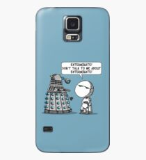 Marvin meets Who? Case/Skin for Samsung Galaxy