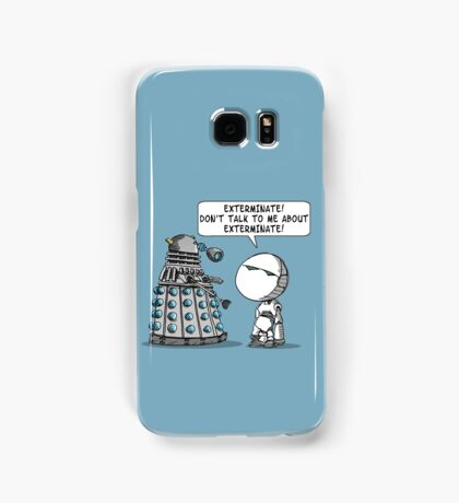 Marvin meets Who? Samsung Galaxy Case/Skin