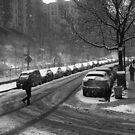 March Snow in Upper Manhattan by steeber