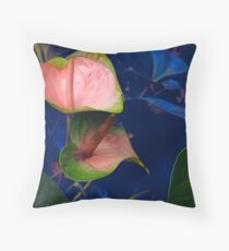 The Beauty of Anthurium Floor Pillow