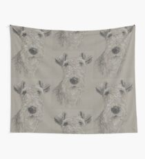 Wire-haired Fox Terrier Wall Tapestry