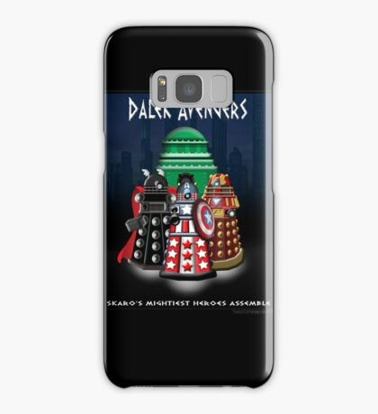 Marvel at the Su-WHO-per-heroes Samsung Galaxy Case/Skin
