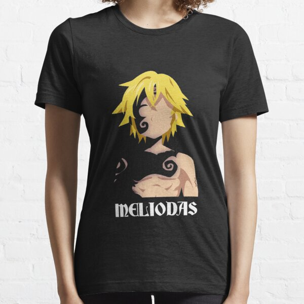 Seven Deadly Sins - Meliodas Stylized Artwork Camiseta esencial
